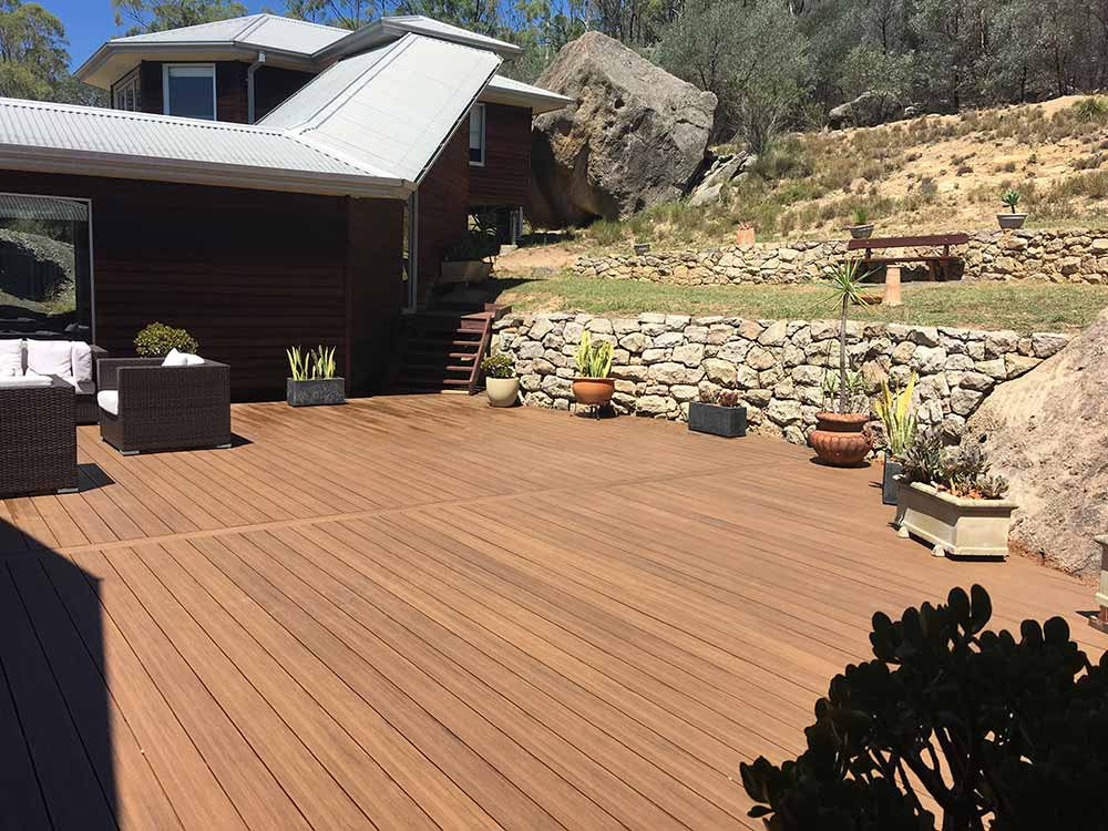 Futurewood CleverDeck solid composite timber decking