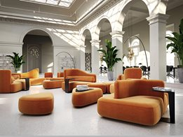 Modular sofa: Ottawa collection by Karim Rashid