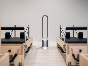 Interior View of The Well Centre Pilates Studio With Dyson Fans