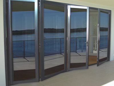 Wintec Systems Bedarra Bi-Fold Door