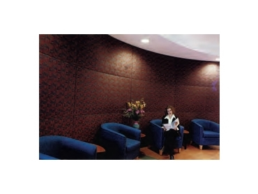 Noise absorbing fabrics for waiting rooms