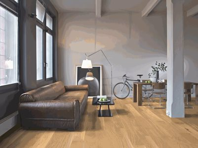 Premium Oak Flooring Residential Interior