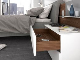 Quadro Drawer Runner System by Hettich
