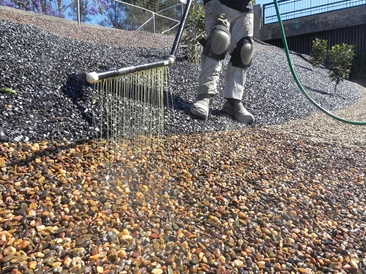 Pour On Gravel Binder - the solution to bind and stabilise loose gravel