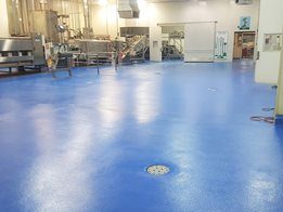 Hygienic food grade flooring solutions