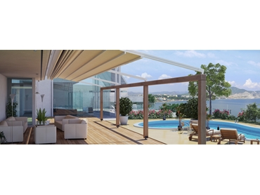 Retractable Waterproof Roofs and Pergolas from Issey Sun Shade Systems l jpg