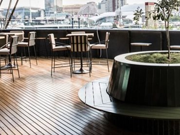 Outdure's QwickBuild deck system at Barangaroo House