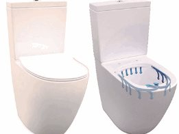 Robust, hygienic sophistication with the Enware Rimless toilet