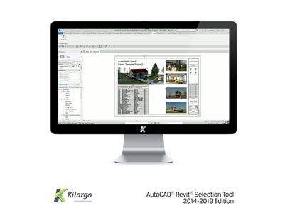 Kilargo AutoCAD Revit Selection Tool House Project on Mac Screen