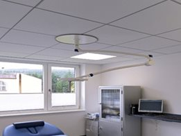 OWA Humancare - Mineral Fibre Ceiling Tiles for Healthcare Applications