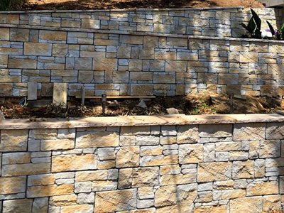 Detailed product image of architectural masonry boundary wall