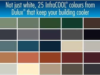 COOL ROOF InfraCOOL® Colours
