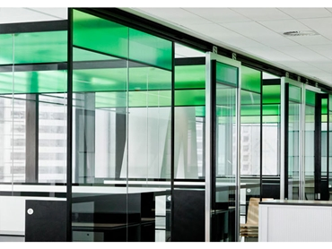 Partitioning suites for the building and commercial fitout industry
