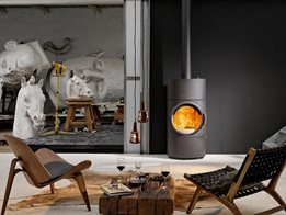 AustroFlamm fireplace: Exquisite Austrian engineering and design