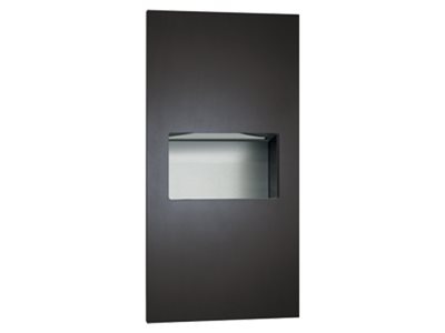 Stainless-steel-washroom accessory