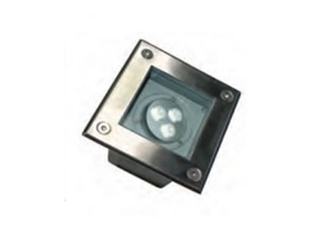 Energy efficient 9W Square In Ground Outdoor Lights