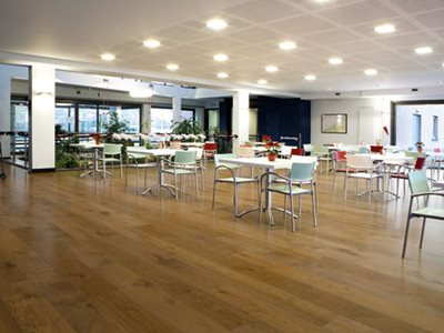 Premium Oak Flooring Office Interior