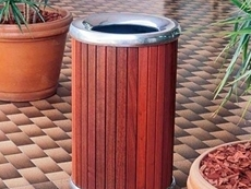 Indoor and outdoor bins from D O Smith & Sons
