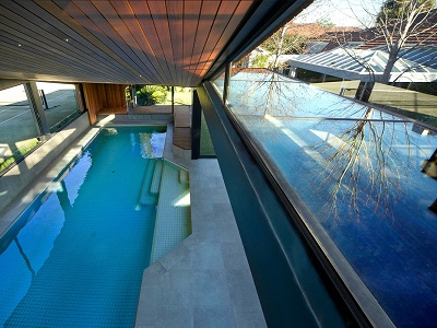The Origami Poolhouse