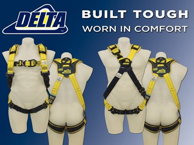 Delta Fall Protection Comfort Harnesses1