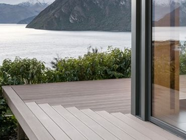 EcoDecking in Almond colour