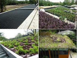 Roof garden and landscaping drainage systems from Elmich Australia