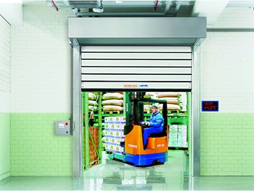 DMF Efaflex SST High Speed Insulated Doors are ideal for applications that require temperature or sound insulation