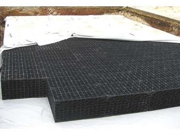 Underground stormwater tanks and drainage sheets with lighweight design