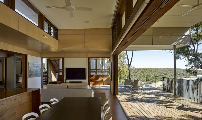 Spring's Beach House interior
