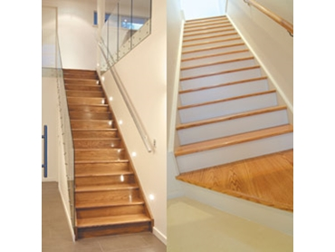 American Red Oak Staircases from Stair Lock International