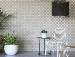 Decorative wall coverings from Woven Image
