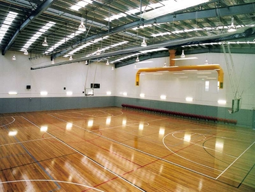 Modular Domelinks™ Skylights provides natural lighting to Menai Sports Centre
