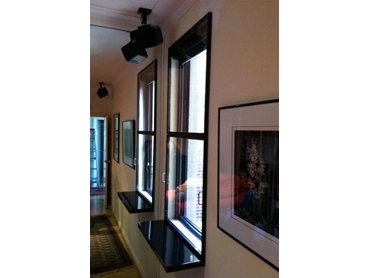 Soundblock retrofit Acrylic Magnetic Windows black PVC frame