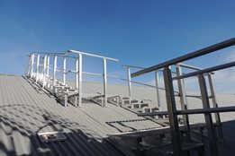Walkways and Guardrails by AM-BOSS Access Ladders Pty Ltd