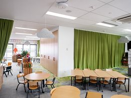 Acoustic blinds and curtains for noise reduction