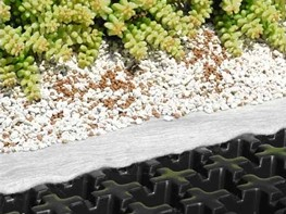 Elmich roof garden and landscaping drainage system