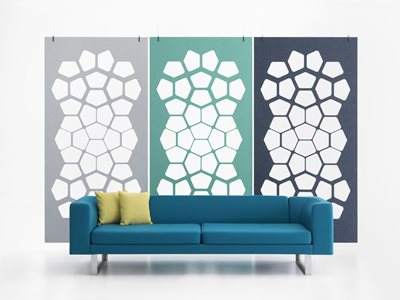 Woven Image EchoPanel®: Acoustic space dividing systems