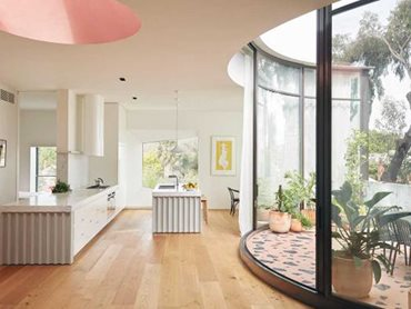Whitlam Place features curved double glazing