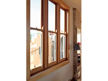 Natural and Light Western Red Cedar Windows and Doors from Trend l