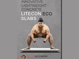 LiteCon eco slabs – Lightweight concrete solutions