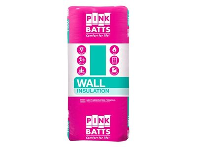 Fletcher Insulation Pink Batts Wall
