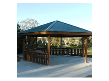 Commercial Picnic Shelters Gazebos Outdoor Furniture and Bridges by Outside Products l jpg