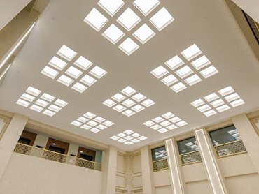 USG Boral Ensemble acoustic ceiling panels in Chancery House
