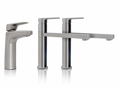 Billi XL Dispenser  Paddle Mixer Taps Brushed finish filtered water tap