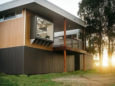 High quality Innoclad composite wood cladding lives lived well