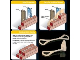 Economical, Non Corrosive and Acoustic Masonry Wall Ties from NovaPlas