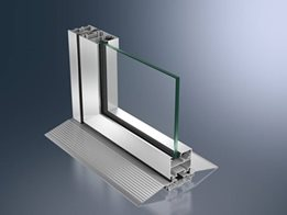 Schüco ASS insulated and uninsulated aluminium sliding door systems offer a wide choice of styles and options
