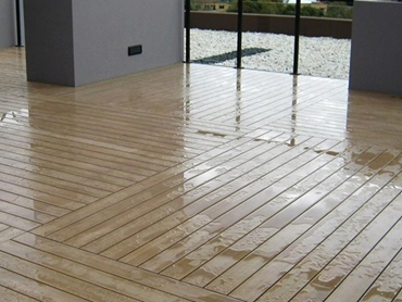 InnoTiles Modular Decking Tile System from Innowood Australia l