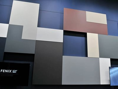 Coloured Rectangle Wall Panels