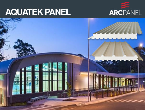 ARCPANEL Aquatek Panel: Outstanding corrosion resistance for aquatic environments